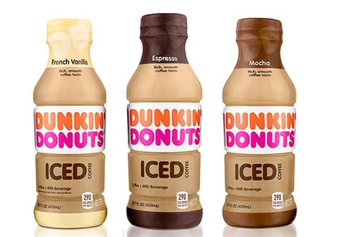 Judging from the ingredients list, it'd be more realistic to call these new coffee. COMING SOON: Dunkin' Donuts Bottled Iced Coffee - The ...