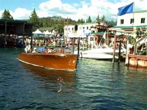 Formula Boats In Lake Tahoe by The Elegance Of Classic Wooden Motorboats Doovi