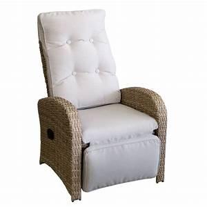 Gartenstühle Rattan Grau : polyrattan sessel mit fu teil naturfarben auflage grau garten gartenm bel gartenst hle ~ Orissabook.com Haus und Dekorationen
