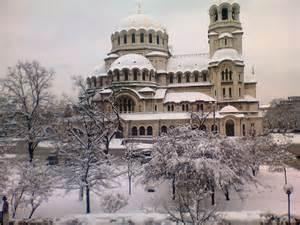 Sofia Bulgaria Winter