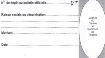 attestation domiciliation si鑒e social reçu du bo