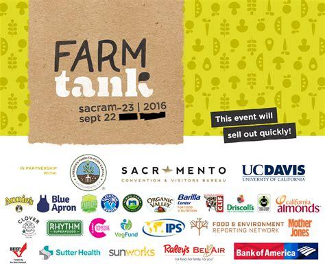 sacramento convention and visitors bureau inaugural farm tank summit sacramento ca tickets thu