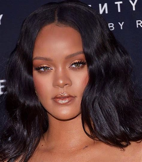 Rihanna In Versace Fenty Beauty Milan Launch Event