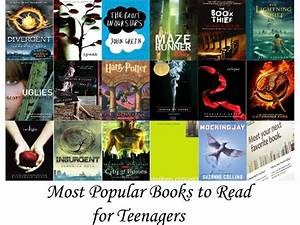 Most Popular Books For Teenagers U2019 The Granite Planet