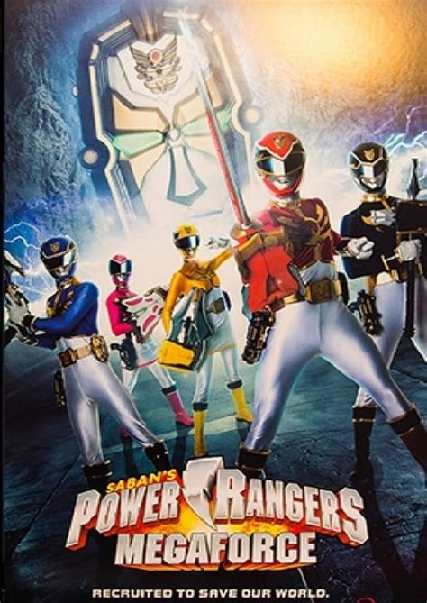 power rangers megaforce ultimate team power movies
