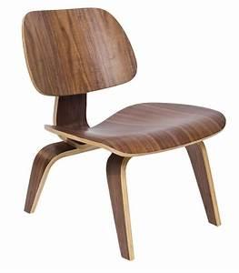 Eames Chair Lounge : eames walnut lounge chair lcw wonderwood ~ Buech-reservation.com Haus und Dekorationen