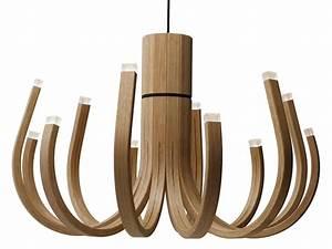 Lustre Bois Design : lustre design 20 id es originales pour couronner les pi ces ~ Teatrodelosmanantiales.com Idées de Décoration