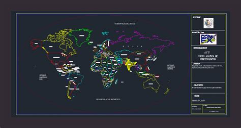 world map dwg block  autocad designs cad