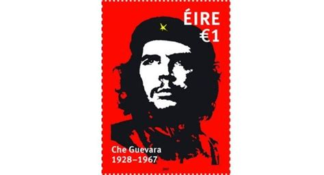 post che guevara anniversary stamp approved  cabinet