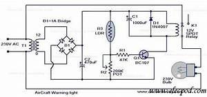 Aircraft Warning Light Circuit  U2013 Circuit Wiring Diagrams