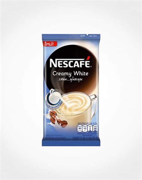 Nescafé Creamy White Coffee Mix Powder 19g x 4 ? Bagit
