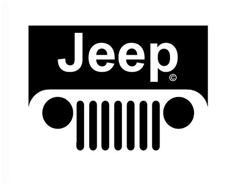 jeep logo vector jeep grill logo tattoo image 210