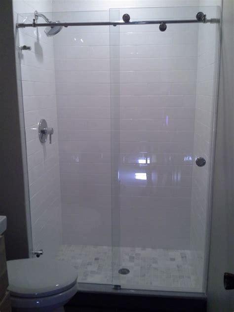skyline sliding shower door