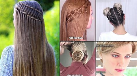 diy hairstyles     home easy