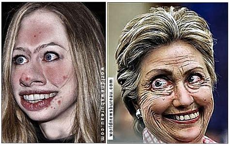 chelsea fresh face  clinton campaign world news bureau