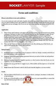 terms and conditions of sale of goods to consumers b2c With sales terms and conditions template free