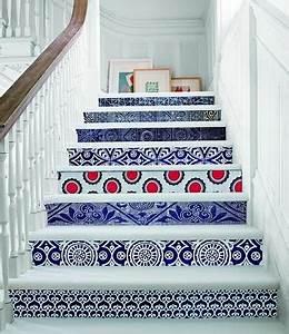 Contre Marche Deco : id e d co escalier avec contre marche en tissu ~ Dallasstarsshop.com Idées de Décoration