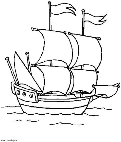 Speedboot Kleurplaat by Boten Motorboot En Jachten Kleurplaten