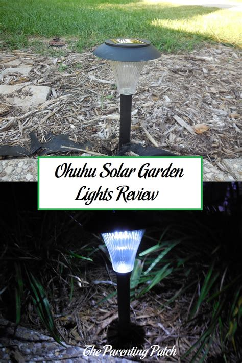 ohuhu solar garden lights review parenting patch