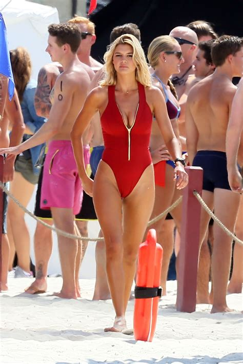 kelly rohrbach  red swimsuit  gotceleb