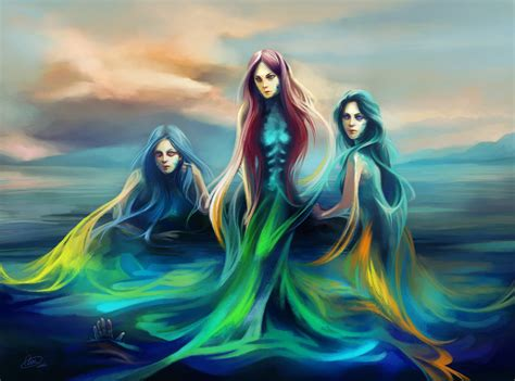 sirens mythology greek deviantart mermaid creatures bird siren mythical mermaids creature fantasy trap described water head woman mythological achelous god
