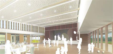 salle des fetes de meaux ara trio architectes salle des f 234 tes et atelier municipal 224 algolsheim