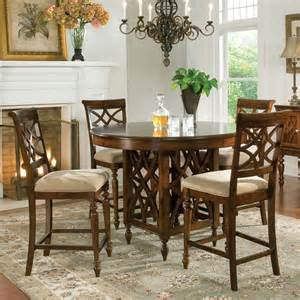 Counter Height Dining Room Sets Standard Furniture Woodmont 5 Counter Height Dining Room Set Beyond Stores
