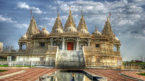 hindu temple monument building landmark hd wallpaper