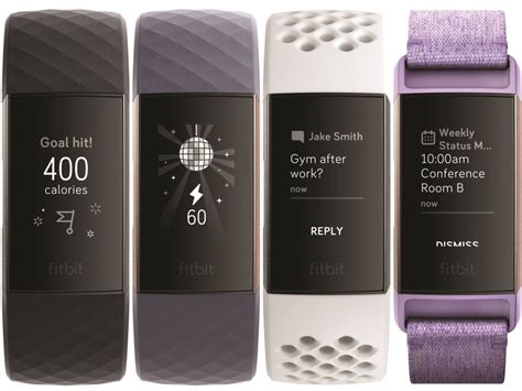 fitbit charge 3 with a touchscreen and 7 days of battery