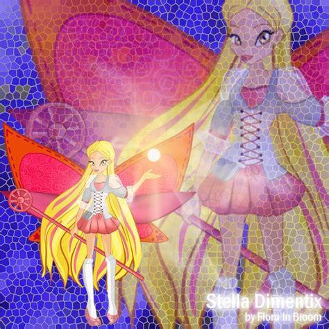 stella dimentix by florainbloom bloom winx club