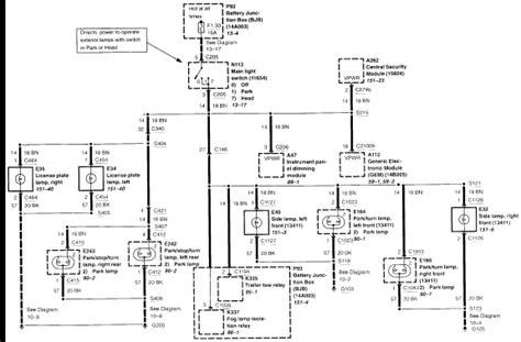 Ford Ranger Brake Light Wiring Diagram by 2002 Ford Ranger Edge Bulb Fuses Light Switch Lights