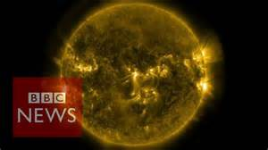 Solar flares: Footage released by Nasa - BBC News - YouTube