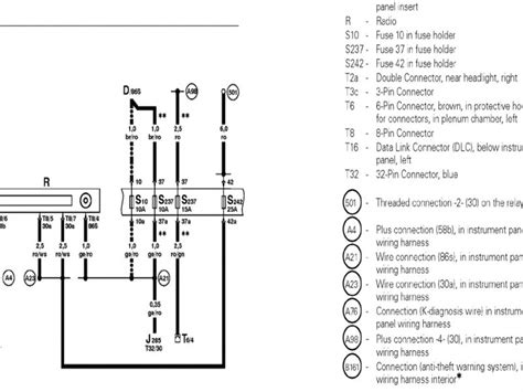 2004 vw beetle radio wiring diagram wiring forums