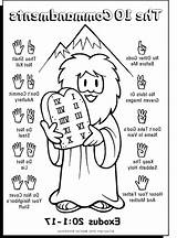 Commandments Coloring Ten Pages Printable Commandment Sheets Sunday Bible 2nd Activities Colouring Greatest Moses Children Chart Preschool Coloringhome Tablets Crafts sketch template