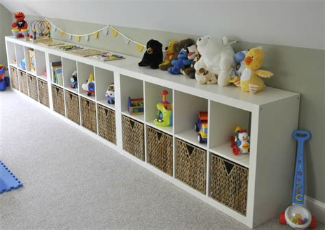 Ikea Expedit Playroom Storage
