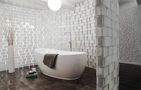 salle de bain brique de verre le pav 233 de verre voir les meilleures id 233 es