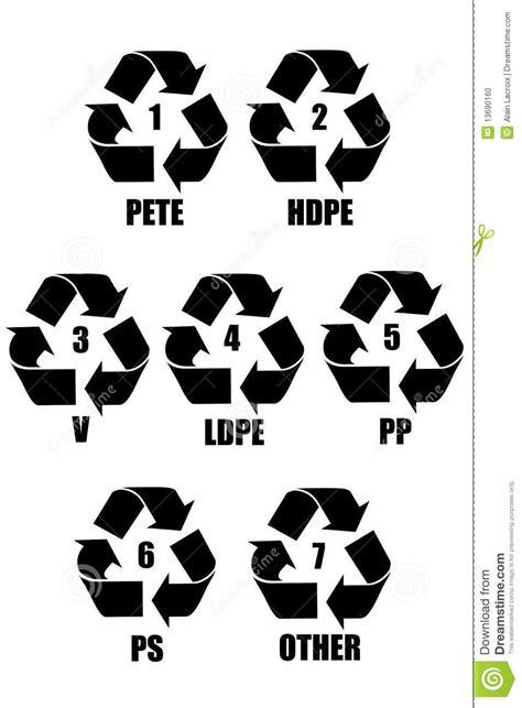 plastic symbol stock photo image