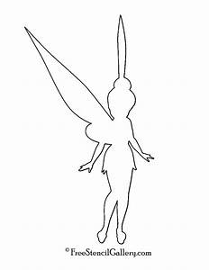 tinkerbell silhouette stencil free stencil gallery With tinkerbell pumpkin template free