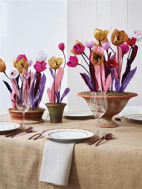 paper flower centerpiece hgtv
