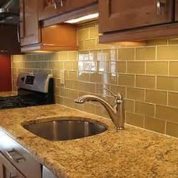 kitchen backsplash subway tiles glass subway tile backsplash