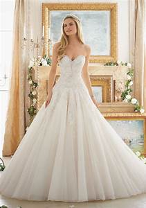 dreamy ball gown wedding gown style 2877 morilee With patterned wedding dress