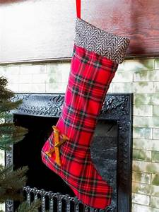 do it yourself christmas stockings hgtv With small letter stockings