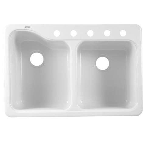 americast kitchen sinks silhouette best american standard 7145 805 208 silhouette 33 by 22