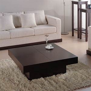 coffee tables ideas contemporary household coffee table With large dark brown coffee table