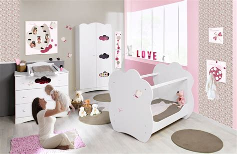 chambre complete bebe fille décoration chambre fille 1 an