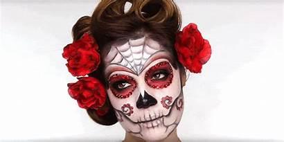 Makeup Skull Sugar Dead Catrina Tutorial Landscape