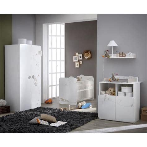 cdiscount chambre complete jungle chambre bébé complète lit armoire commode