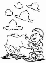 Smoke Coloring Pages Template Templates sketch template