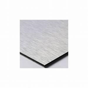 Plaque Alu Brossé : plaque professionnelle aluminium bross plaque pro dibond ~ Edinachiropracticcenter.com Idées de Décoration