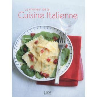 livre cuisine italienne la cuisine italienne broché collectif achat livre ou